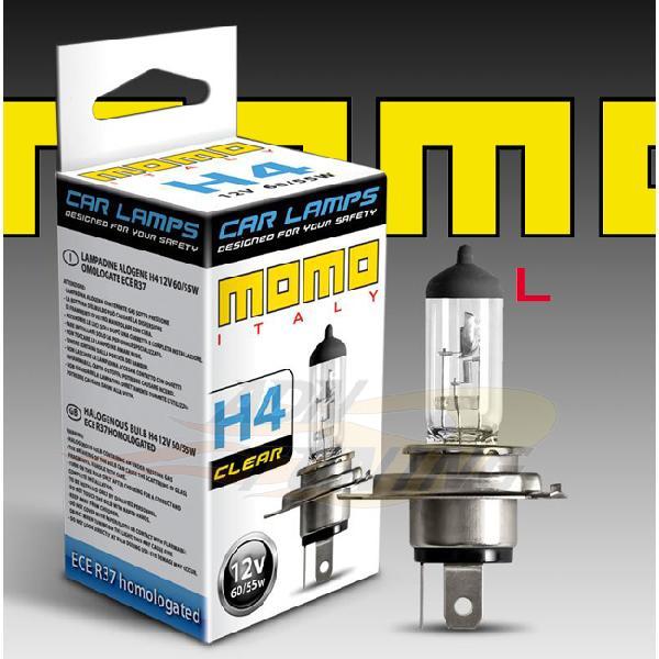 1 Ampoule - Blanc Eclatant - H4 12V 55W 3200K - Homologue - Type Origine