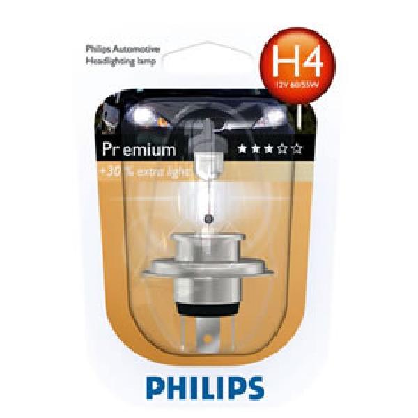 1 ampoule H4 12V Vision - 30% de plus - 60/55W