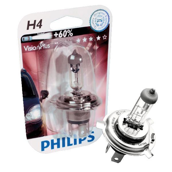 1 ampoule H4 Vision Plus 60