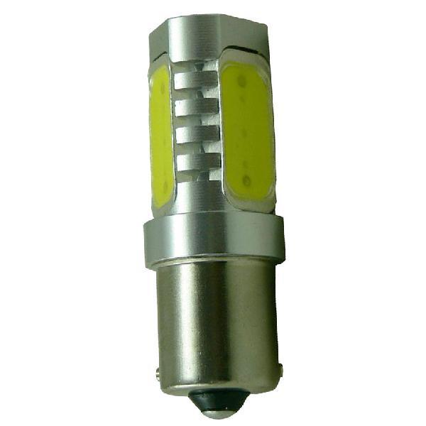 1 Ampoule LED PY21W BAU15s 6W eclairage orange