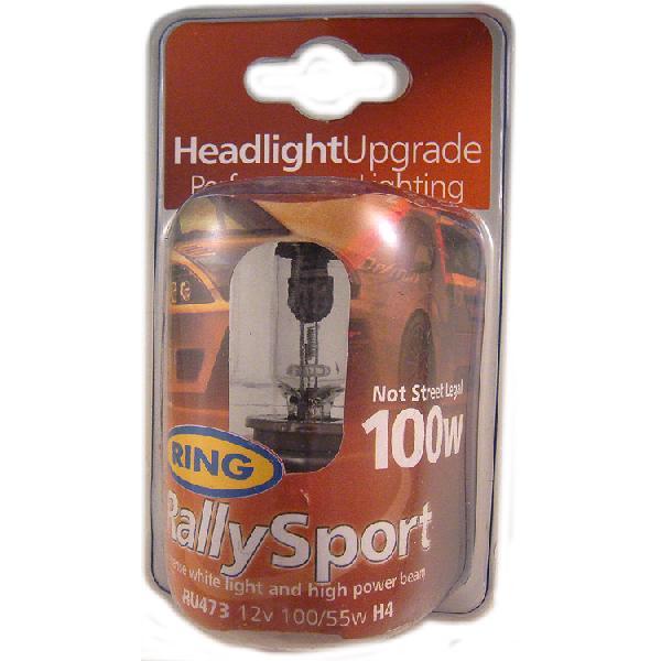 1 Ampoule -RallySport- H4 12V 100/55W - P43t