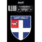 1 Adhesif Blason Saint Malo STV35-1B