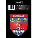 1 Sticker Blason Bordeaux Generique