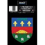 1 Sticker Guyane - STR973B Generique