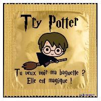 1 X Preservatif humoristique Try Potter