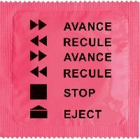 1 X preservatif Avance Recule
