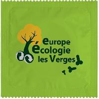 1 X preservatif EELV Europe Ecologie Les Verges