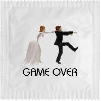 1 X preservatif Game Over