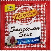 1 X preservatif Saucisson Sexe