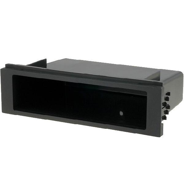1Din Universel - Vide poche pour emplacement auto radio ISO - 188x52x105mm - ouv 155x39 - le plus un