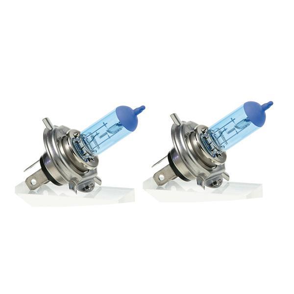 2 Ampoules Diamond Xenon - H4 12V 55W 4400K - P43T - Homologuees
