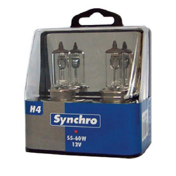 2 ampoules H4 55/60W 12V