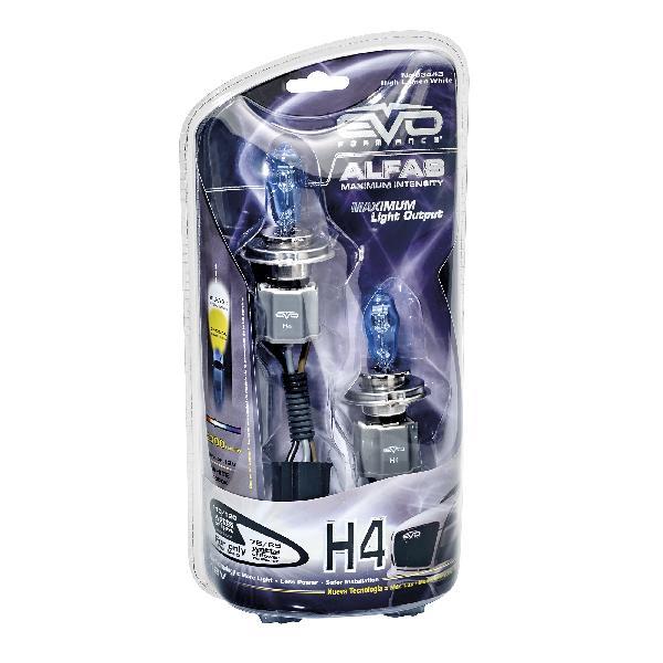 2 Ampoules H4 Alfas Maximum Intensity 4300K 75/85W 110/120W