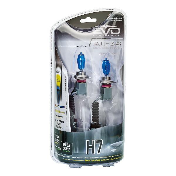 2 Ampoules H7 Alfas Maximum Intensity 6000K 85/120W