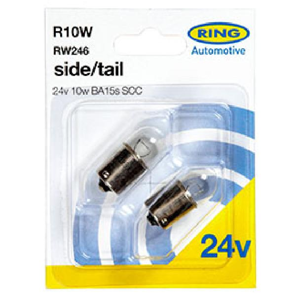 2 ampoules R10W 24V RING