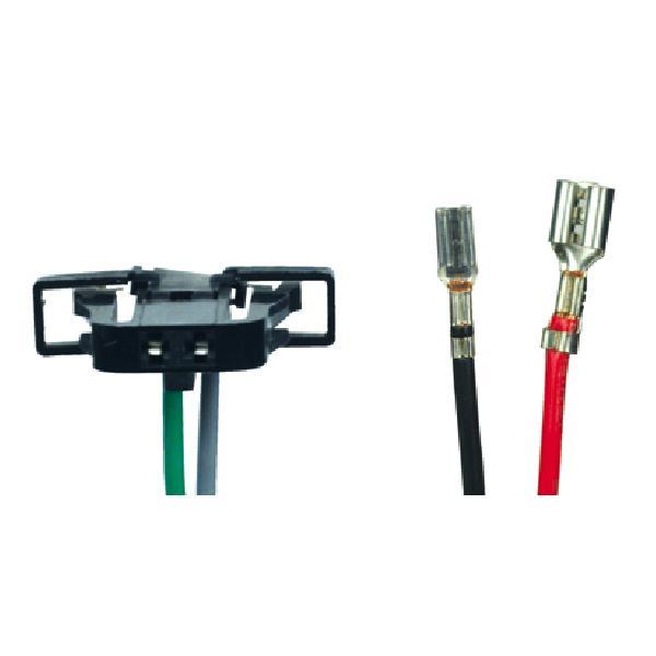 2 Cables adaptateurs haut-parleur - Seat / Volskwagen / Skoda [Voiture : Seat > Arosa (97-04)] [Voiture : Seat > Cordoba] [Voiture : Seat > Ibiza] [Voiture : Seat > Toledo] [Voiture : Skoda > Fabia] [Voiture : Volkswagen > Bora (98-05)] [Voiture :