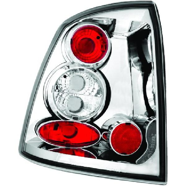 2 Feux Tuning EVO Light Adaptables pour Opel Astra G 98-04 - Cristal [Voiture : Opel > Astra > Astra
