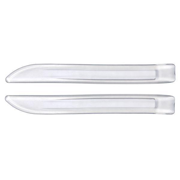 2 Proteges Pare-choc 26x3cm - Transparent