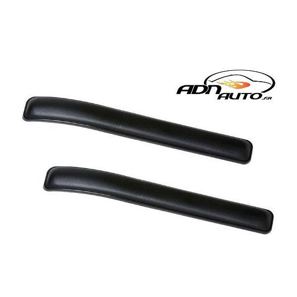 2 Proteges Pare-Chocs - 26x3cm - Noir