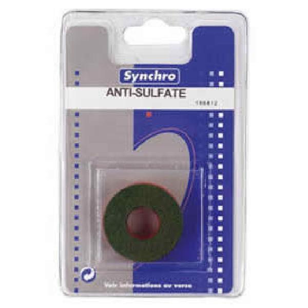 2 rondelles anti-sulfate batterie