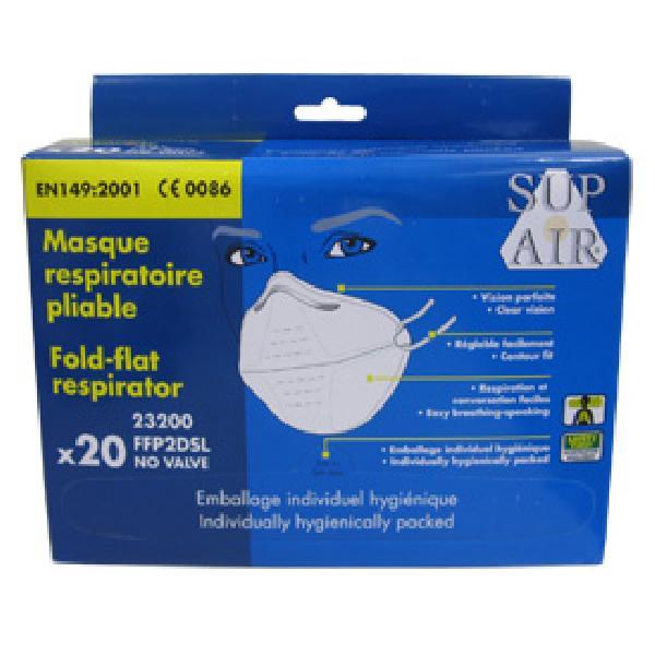 20 Masques respiratoire FFP2