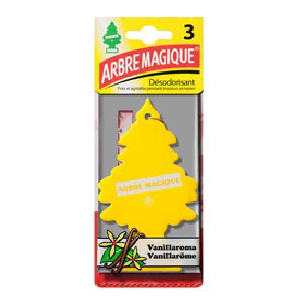 24 Desodorisants vanille - Arbre magique