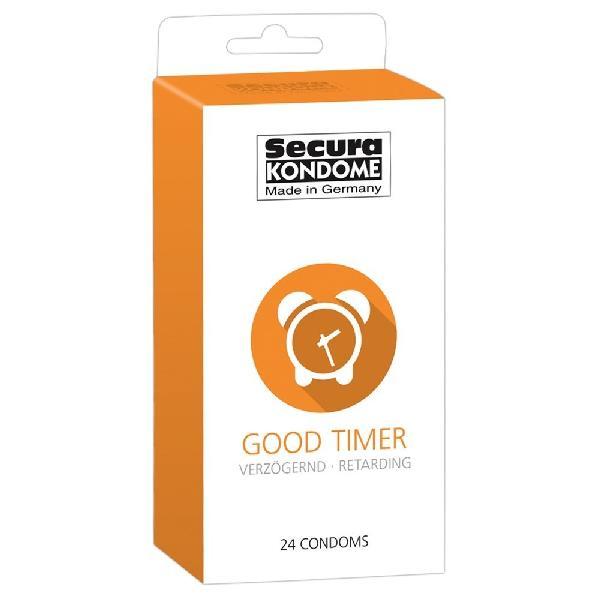 24 Preservatifs Retardants - Good Timer - Transparent