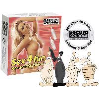 24 preservatifs assortiment Secura