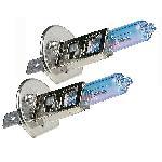 2 Ampoules Plasma Ultra White - H1 12V 55W 4100K - P14.5S - Homologuees
