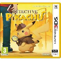 3ds Detective Pikachu Jeu 3DS