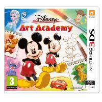 3ds Disney Art Academy Jeu 3DS