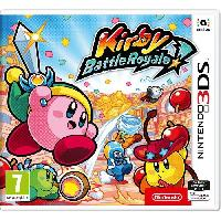 3ds Kirby - Battle Royale Jeu 3DS