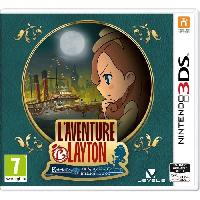3ds L'Aventure Layton - Katrielle et la conspiration des millionnaires - Jeu 3DS