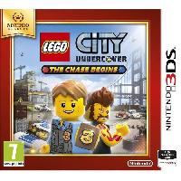3ds Lego City Undercover - The Chase Begins Select Jeu 3DS