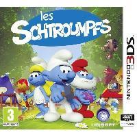 3ds Les Schroumpfs Jeu 3DS - Just For Games