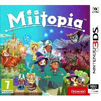 3ds Miitopia Jeu 3DS - Nintendo