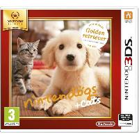 3ds Nintendogs + Cats Golden Jeux Selects 3DS