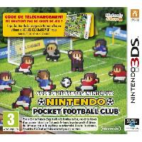 3ds Pocket Football Club Jeu 3DS