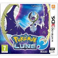 3ds Pokemon Lune Jeu 3DS