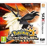 3ds Pokémon Ultra-Soleil Jeu 3DS - Nintendo