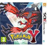 3ds Pokémon Y Jeu 3DS - Nintendo