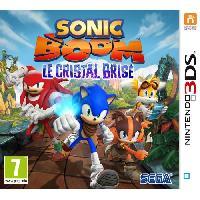 3ds Sonic Boom - Le Cristal Brise Jeu 3DS