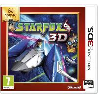 3ds StarFox 64 3D Jeu Select 3DS
