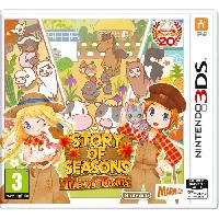 3ds Story of Seasons - Trio of Towns Jeu 3DS