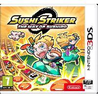 3ds Sushi Stricker The Way of Sushido Nintendo 3DS