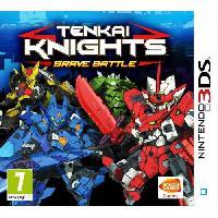 3ds Tenkai Knights - Brave Battle Jeu 3DS