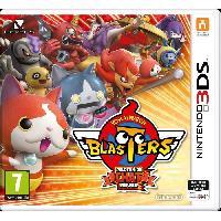 3ds Yo-Kai Watch Blasters : Peloton du chat rouge Jeu 3DS - Nintendo