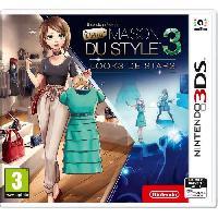 3ds presente La Nouvelle Maison du Style 3 - Looks de Stars - Jeu 3DS