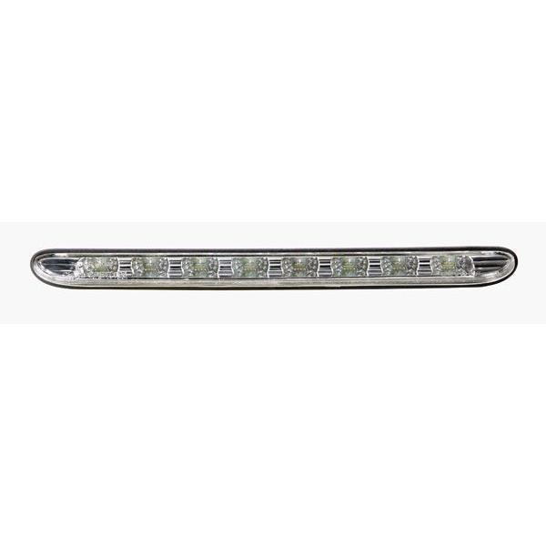 3eme Feu Stop 8 LEDs Adaptable pour Peugeot 206CC - Chrome