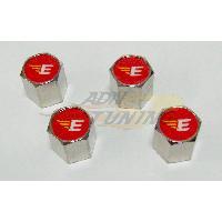 4 bouchons de Valves Aluminium